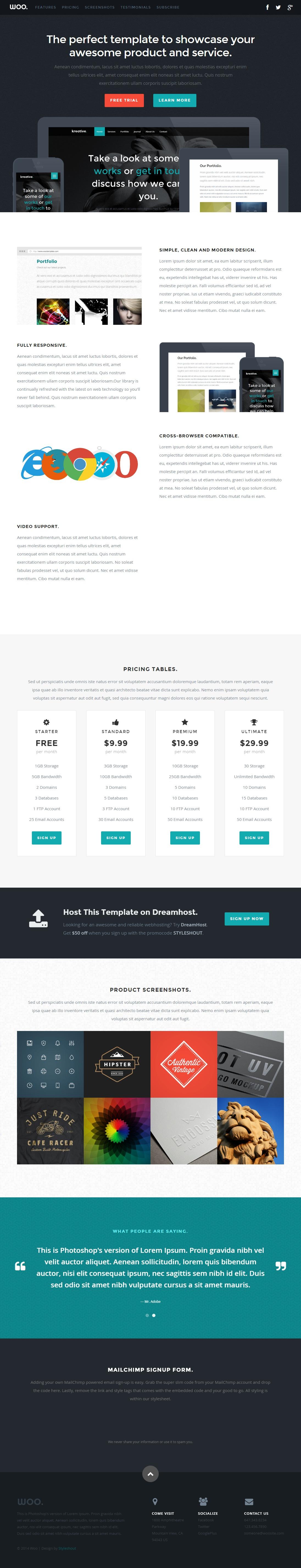 Woo-Free-Responsive-HTML5-CSS3-Template