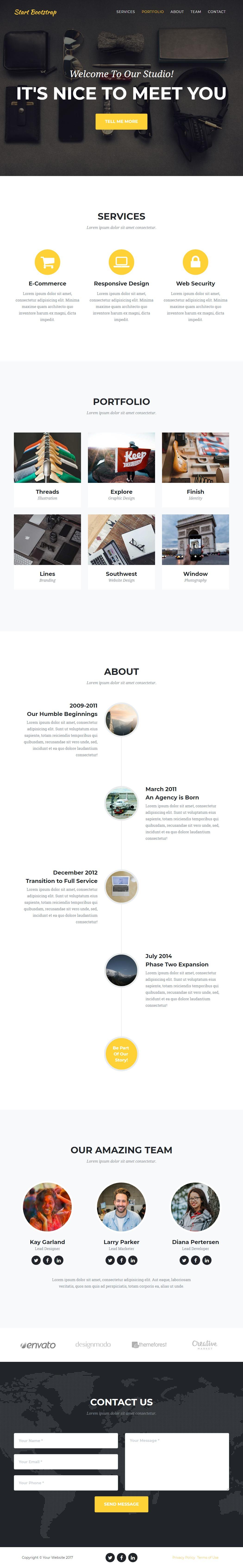 Agency-Start-Bootstrap-Theme