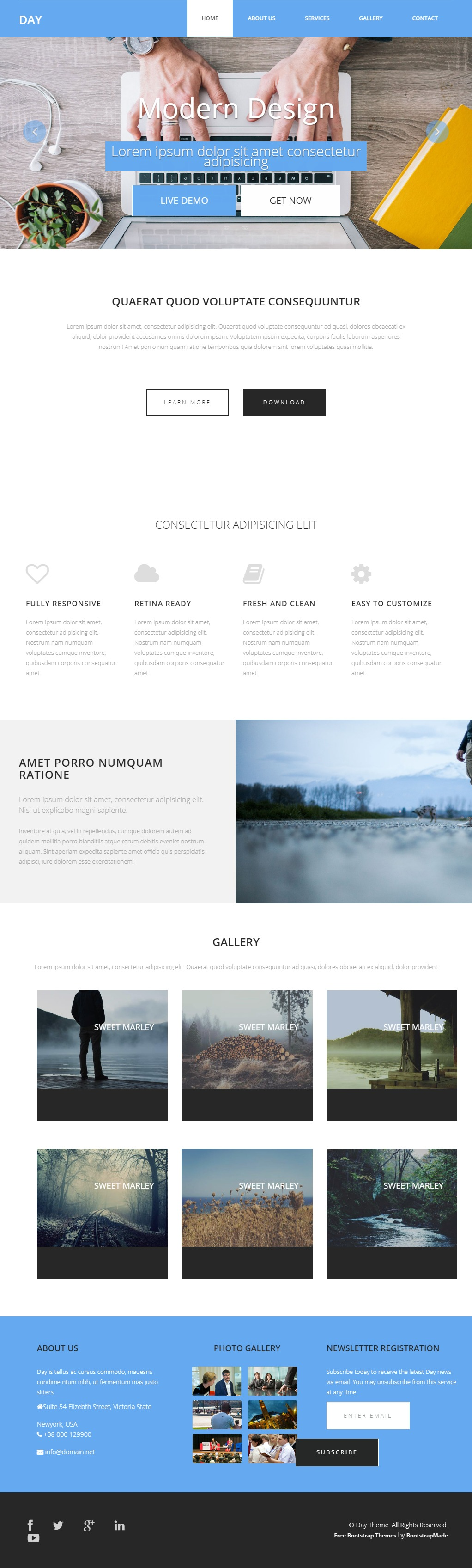 Day-HTML-Bootstrap-Template