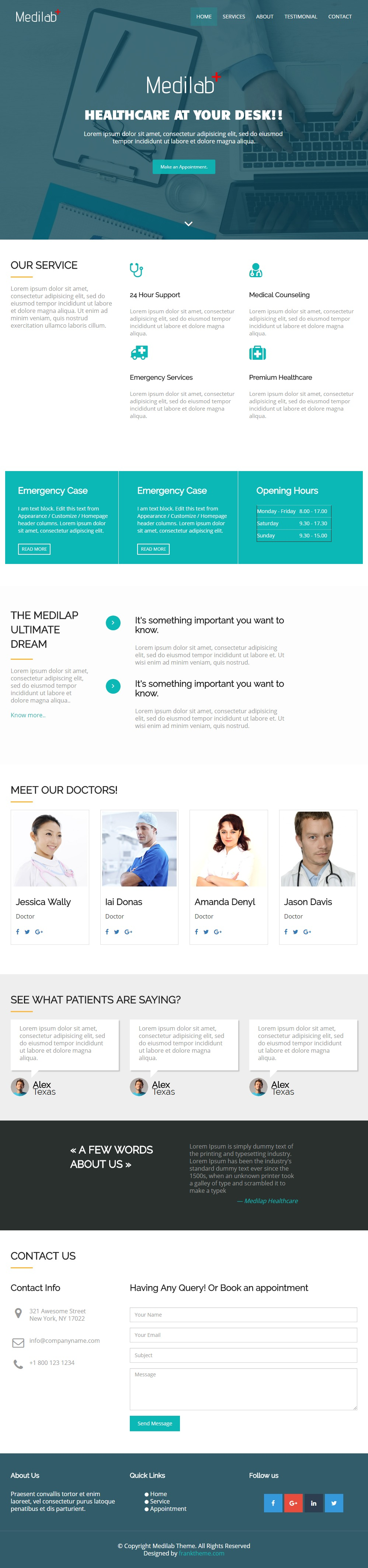 Medilab-Free-Bootstrap-HTML5-Template