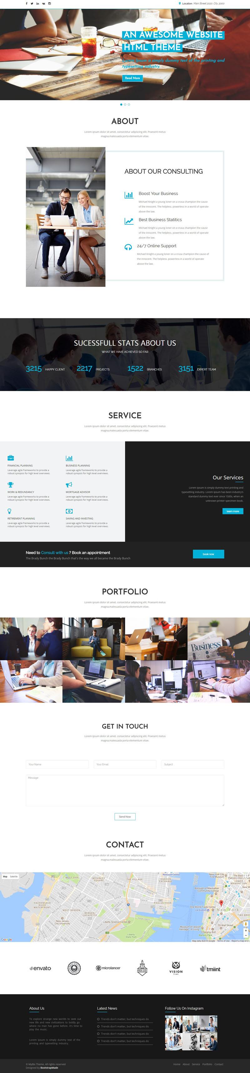 MyBiz-Bootstrap-Theme